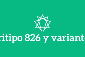Tritipo 826 y variantes