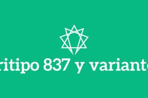 Tritipo 837 y variantes